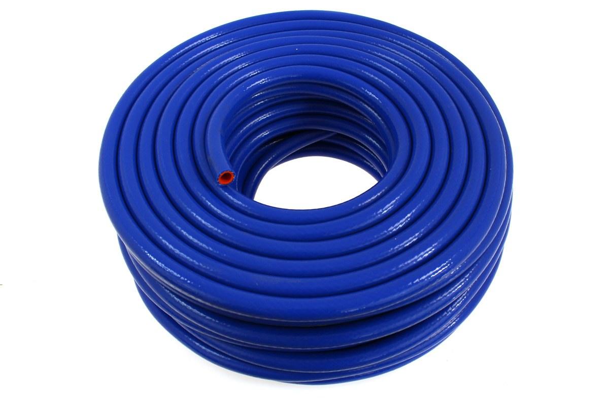 Przewód podciśnienia silikonowy zbrojony TurboWorks PRO blue 8mm - GRUBYGARAGE - Sklep Tuningowy